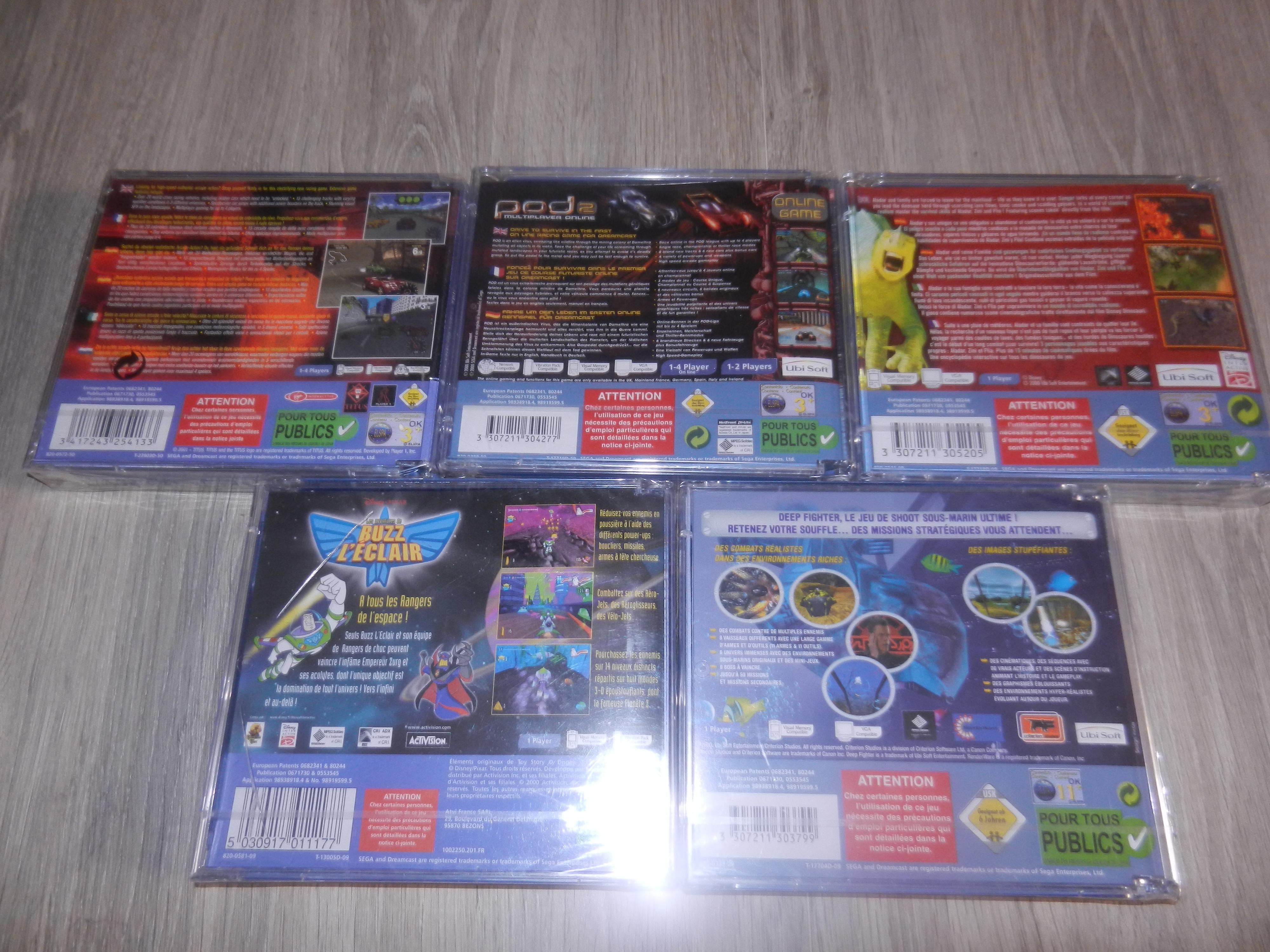 [OK] Fullset Dreamcast PAL FR sous BLISTER : TERMINE au 12/12/16 503348DSCN2443