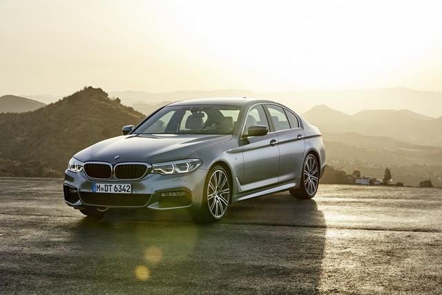 La nouvelle BMW Série 5 Berline. Plus légère, plus dynamique, plus sobre et entièrement interconnectée 503734P90237219highResthenewbmw5series