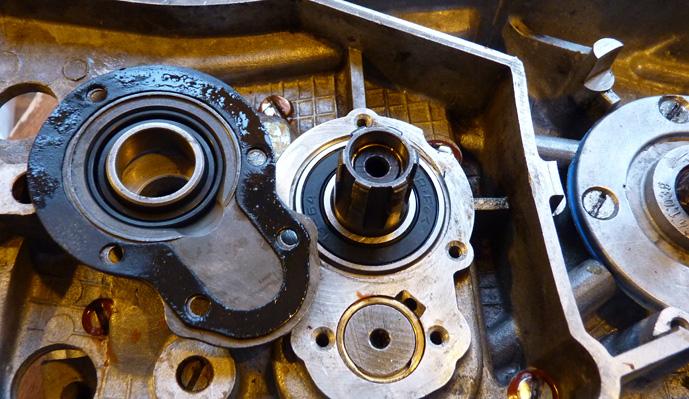 remontage d'un bas moteur d'une 125 TS 503759P1060240