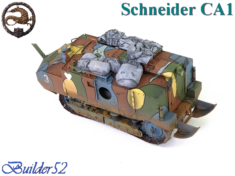 CHAR SCHNEIDER CA 1 - HOBBY BOSS 1/35 507446P1040967