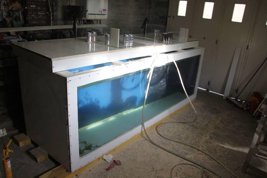 réalisation d'un aquarium en bois de 2000L 507632PXRIMG0025