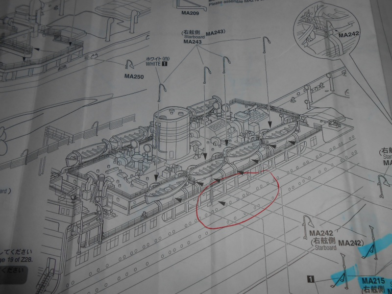 Hikawa Maru hopital 1/350 PE/pont en bois et babioles  - Page 6 508539DSCN6016