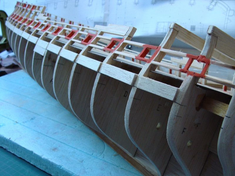 US Frigate Confederacy 1778 de Model Shipways  au 1/64 éme - Page 2 508690DSC01907