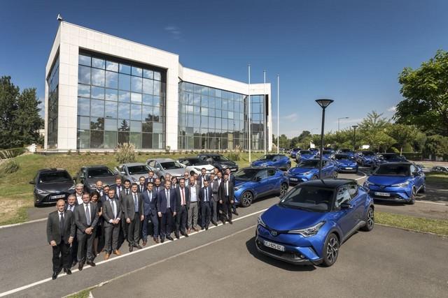 Toyota France équipe 100% de sa flotte de véhicules de société en hybride 509465002