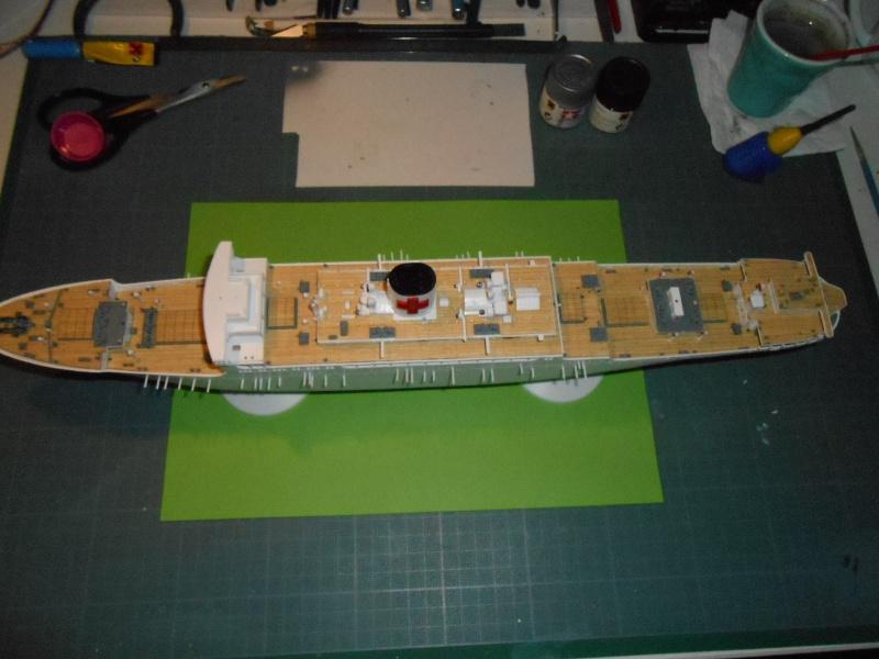 Hikawa Maru hopital 1/350 PE/pont en bois et babioles  - Page 3 509478DSCN5680