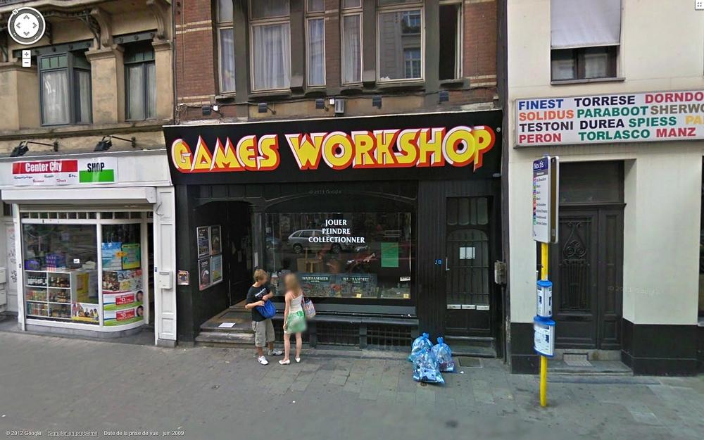 Les Centres Hobby Games Workshop en France et à travers le monde 509489CHGWbruxelles