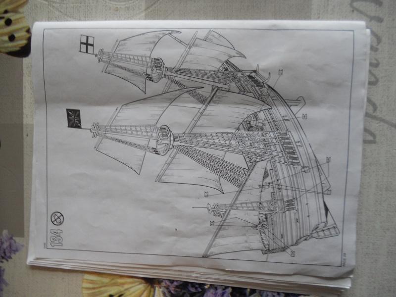 Pilgrim Ship MAYFLOWER Kit Revell au 1:83° 511021DSCN9555