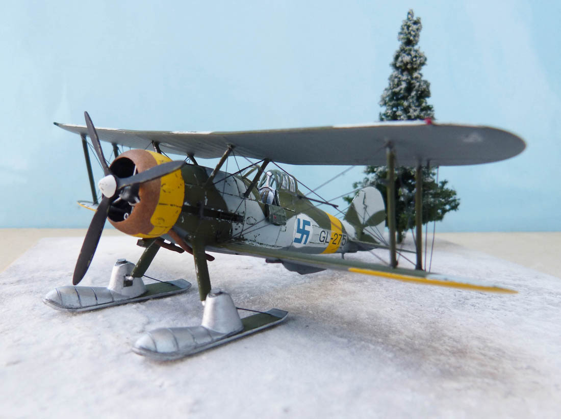 [Airfix] Gloster Gladiator J-8 Finlandais. 511049Glad25