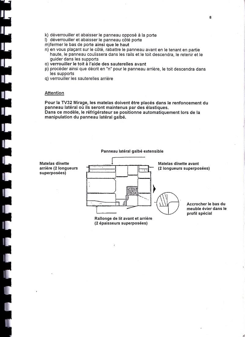 Manuel d'utilisation et d'entretien des caravanes Esterel 1997/1998 513376IMG0008