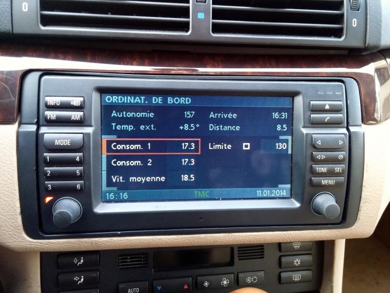 Les menus du GPS mk4 515825Ordinateurdebord