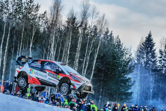 Jari-Matti Latvala Gagne En Suède Avec La Yaris WRC Et Prend La Tête Du Championnat Du Monde 515897AV2017002279