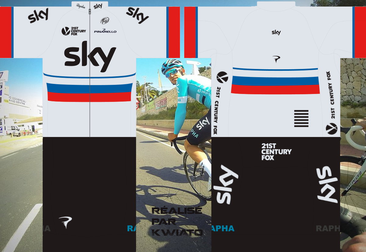 SKY Pro Cycling 516783skymaillotrus