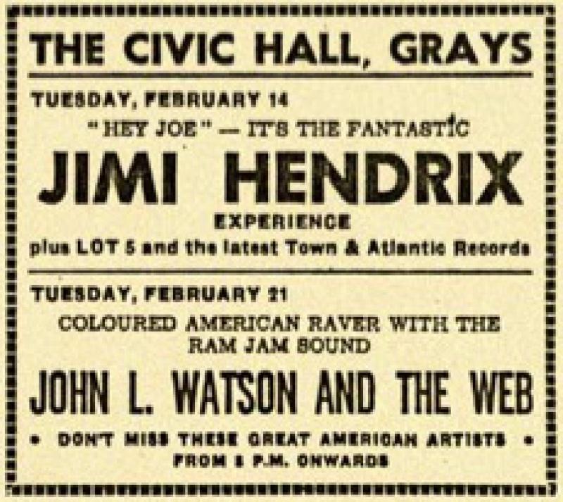 Grays (Civic Hall) : 14 février 1967  5177551402ad159