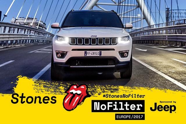 La nouvelle Jeep® Compass sur scène avec les Rolling Stones 518112170905Jeeprollingstones