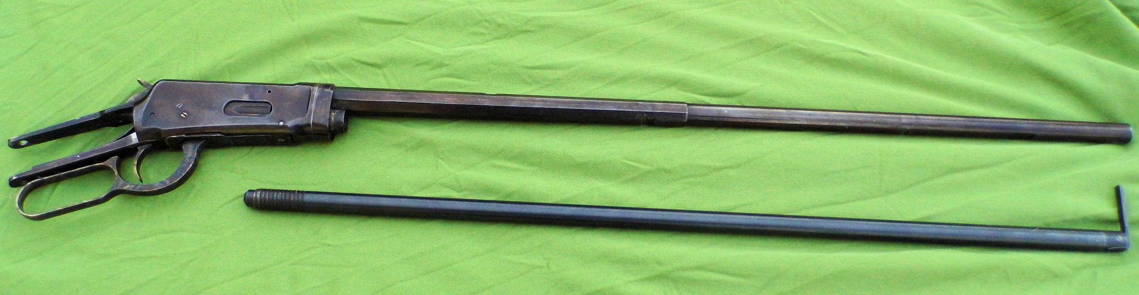 Réaliser un bronzage tabac sur une reproduction de Remington 1858. - Page 2 518738Winchester1894Takedown3240dmonte1