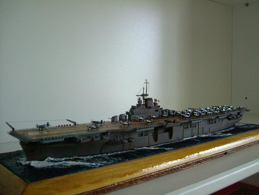 CV-9 USS ESSEX par Kagou 1/700 - Hasegawa + photodec 518917EssexCV92