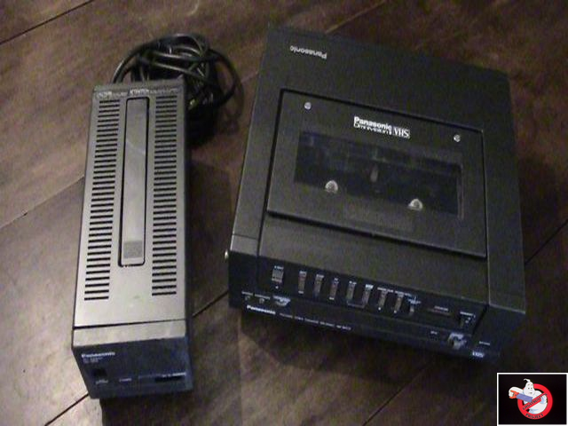 Caméra Panasonic PK-750 et VCR Portable NV-8410 51917015