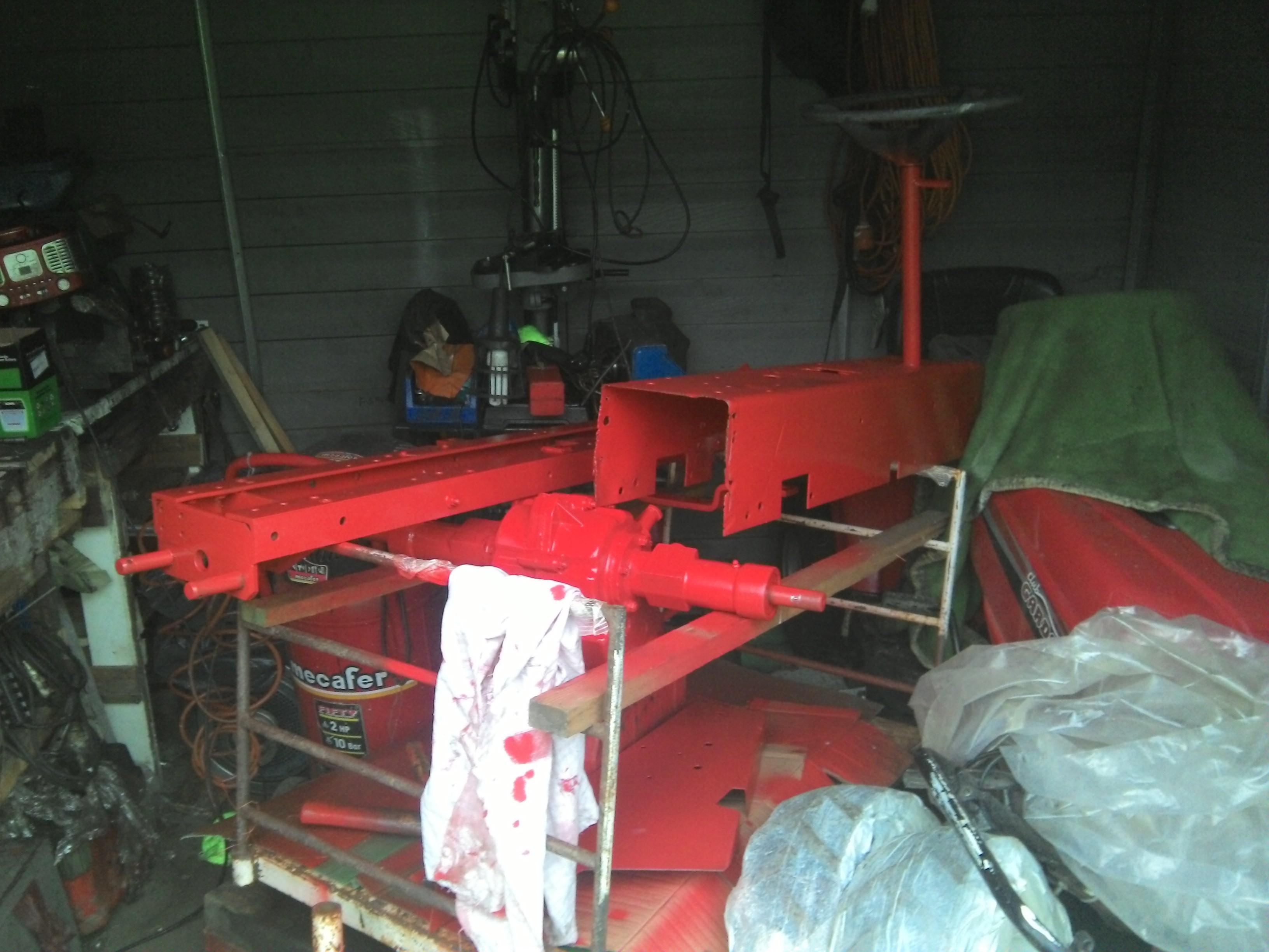 Restauration micro tracteur motostandard 1017 519846IMG20131124160655