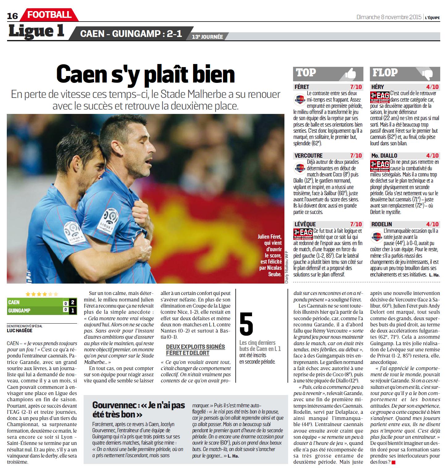 [13e journée de L1] SM Caen 2-1 EA Guingamp - Page 2 519893eag