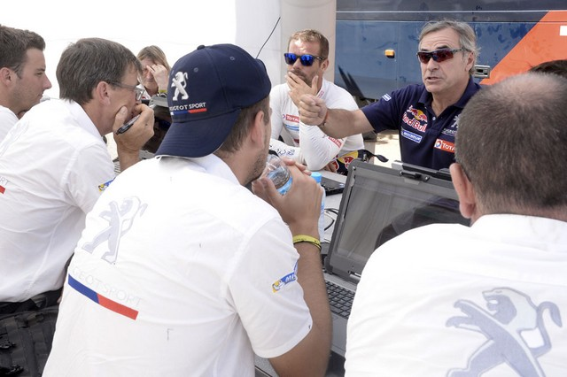 Team Peugeot Total : Rallye du Maroc / ETAPE 2 : Boucle du Drâa 52001005315002042