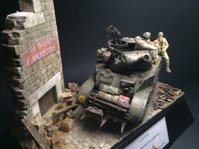 M8 howitzer motor carriage (Tamiya 1/35) unité Hell on Wheels, France 44 520715IMG3490
