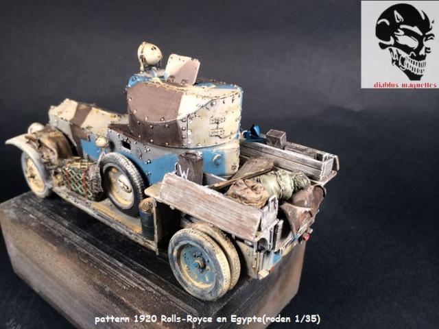 Pattern 1920 Rolls-Royce MK1 en Egypte - (Roden 1/35) 525049finROLS005