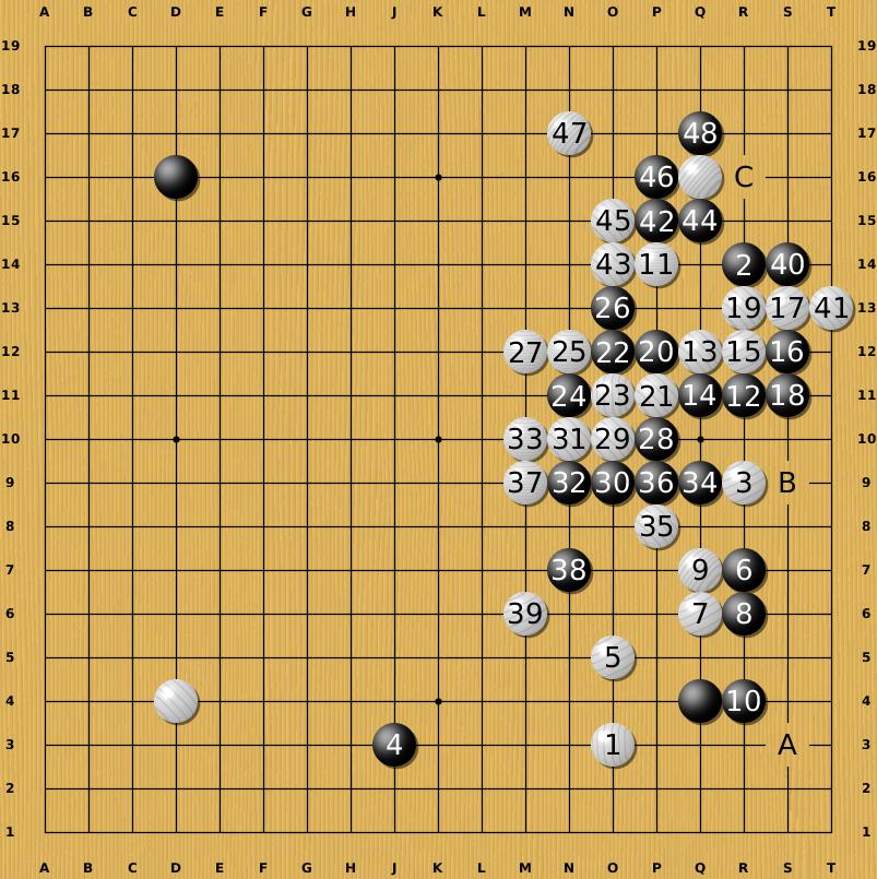 Translation of Huang Longshi vs  Jiang Tianyuan  525675491