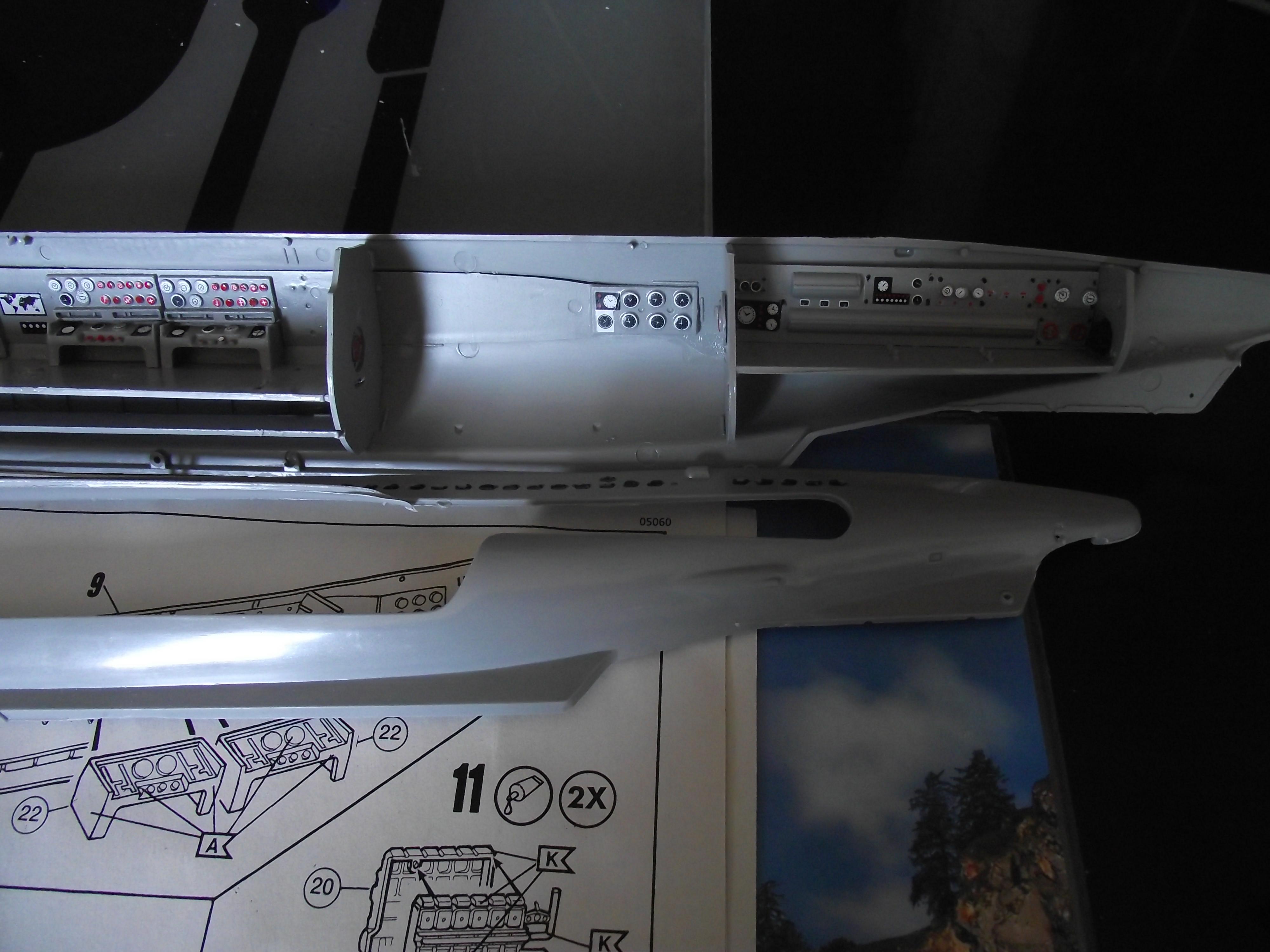 UBoot type VII Revell au 1/144 525689DSCF0989