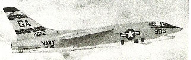 VOUGHT F-8 CRUSADER  525982VoughtF8U1PVFP62