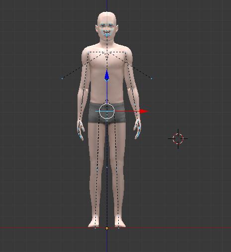 [Intermédiaire][Blender 2.6 et 2.7] Modifier une pose créée par un tiers avec Blender 527323Tuto11