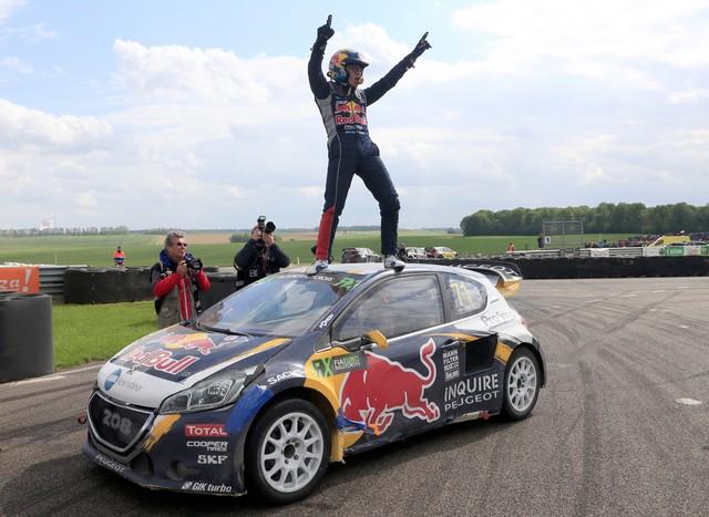 Rallycross - Belle deuxième place de Sébastien Loeb sur la PEUGEOT 208 WRX 5276195738a3147f6e2