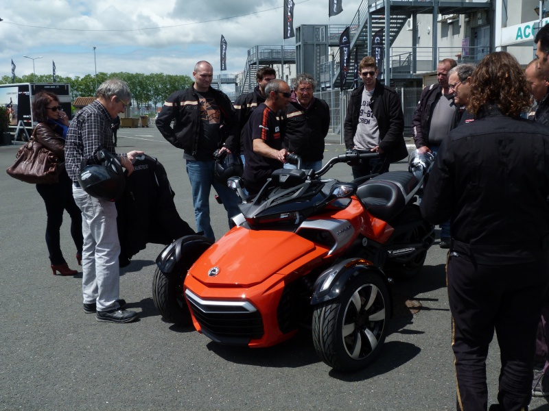 CR & Photos : TSO 17/05/15 : Essai du Can Am SPYDER F3-S et du RT-Limited 528305P1170654