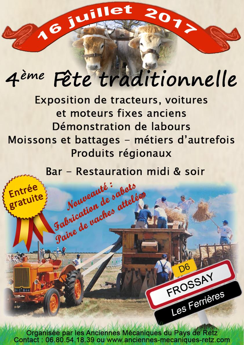 4ème fête traditionnelle le 16 juillet à FROSSAY (44) 529648FinalHQ