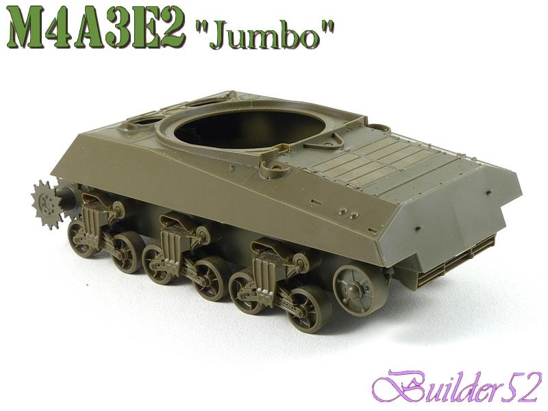 SHERMAN M4A3E2 JUMBO - TASCA 1/35 532089P1050207