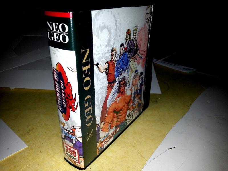 Insert neo geo x pour boites neogeo pocket 53297520130131054531