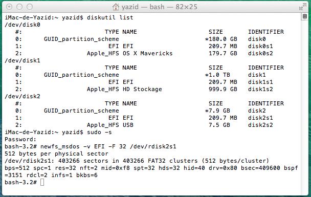 Clover OS X Mavericks V13  534110Sanstitre
