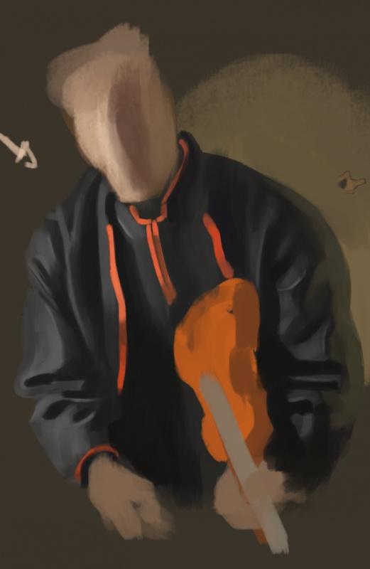 Blop is painting - LE RETOUR SANS CONCESSIONS 534261colorstudy86
