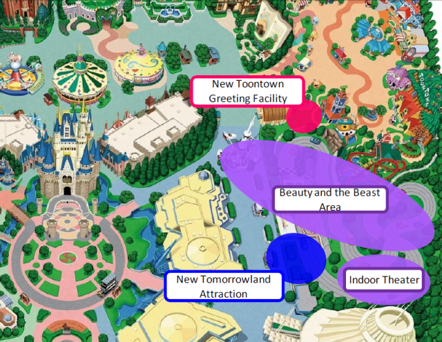 [Tokyo Disneyland] Nouvelles attractions à Toontown, Fantasyland et Tomorrowland (15 avril 2020)  - Page 2 536666W104