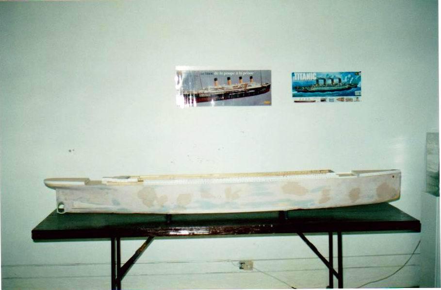 Titanic échelle 1/114 537125A05Titanic1114