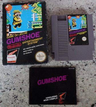 Confirmation existance Gumshoe & punch out ASD 537264Gumshoe4meditionNintendoNesPalB