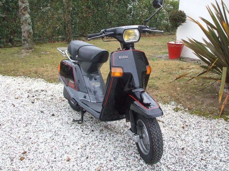 Un petit scooter Japonais , le Yamaha 80 Béluga de 1982... 537289Yamaha80Bluga1987restaur006