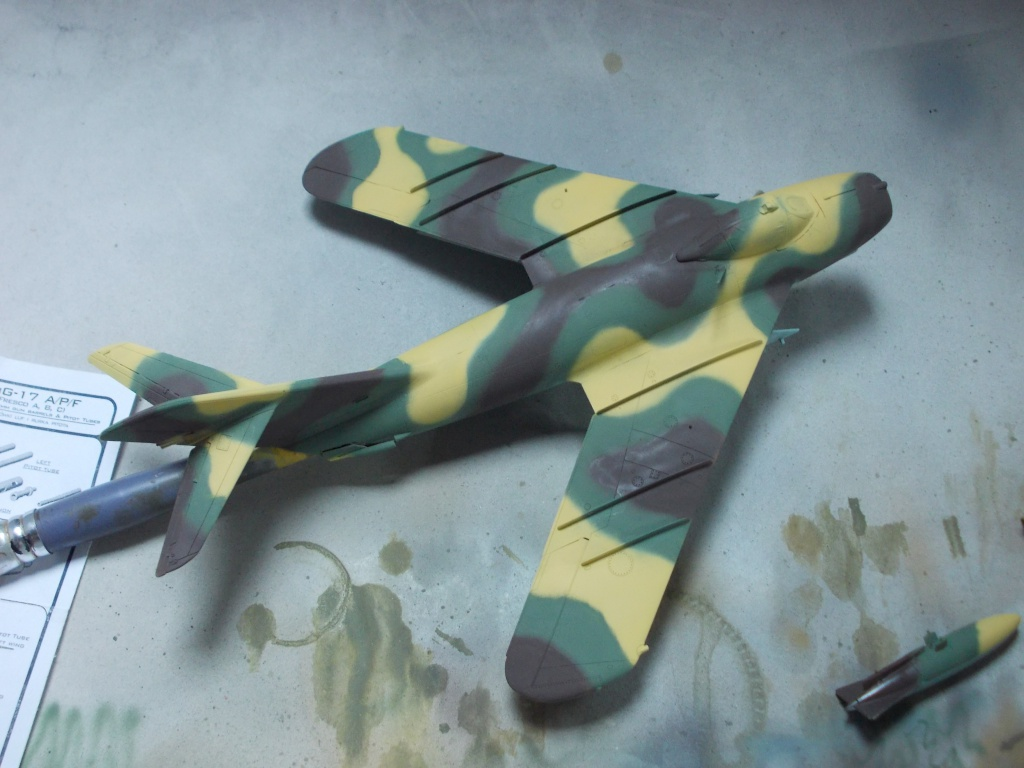 MiG-17 F Fresco C ( Hobby Boss 80334) 1/48 ... 5378123514
