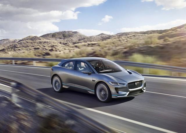 Jaguar Dévoile Le Concept I-PACE : Le SUV Électrique Performant 537826cropthumbnailjagipacelocation14111604