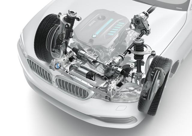 La nouvelle BMW Série 5 Berline. Plus légère, plus dynamique, plus sobre et entièrement interconnectée 538016P90238859highResthenewbmw5series