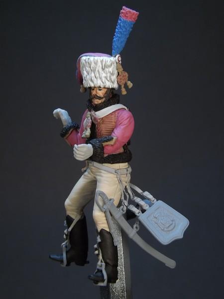 Trompette des chasseurs de la Garde Imperiale 538913tromb15