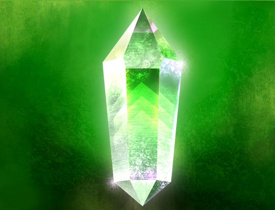 Crystal d'autre couleur 539107Crystalvert