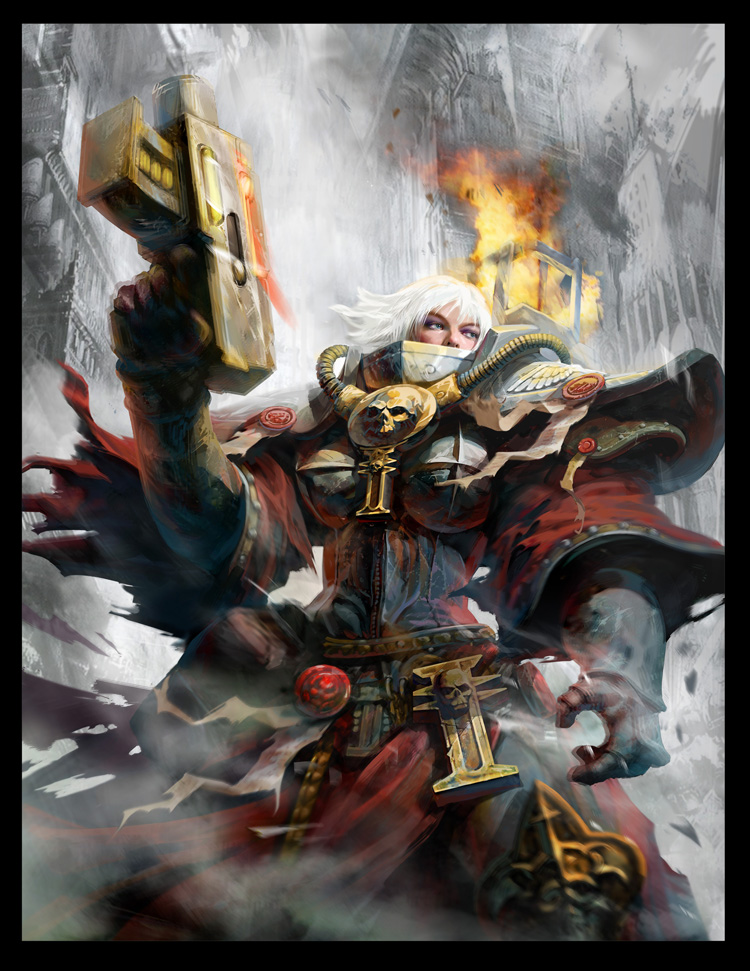 [W40K] Collection d'images : Inquisition/Chevaliers Gris/Sœurs de Bataille - Page 2 541349SisterofBattle2