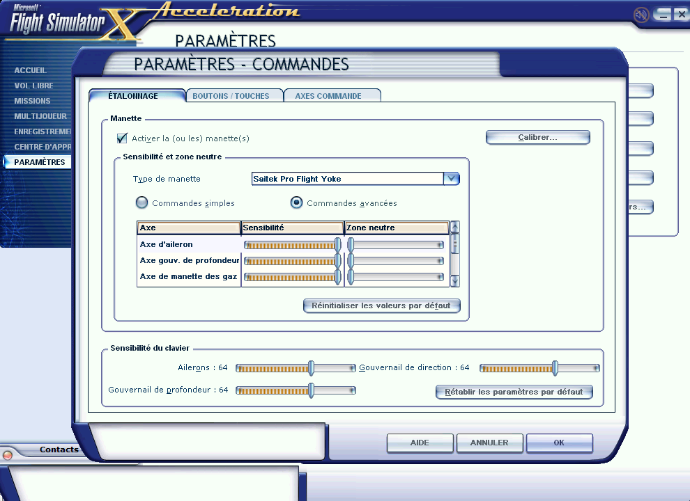 Flight Simulator peut-il fonctionner sur 2 écrans ? 541544161