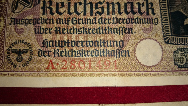 lot billet 20 et 50 reichsmark 542383DSC0036