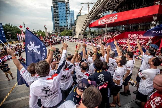 Peugeot Triomphe Pour La Deuxième Année Consécutive Sur Le Silk Way Rally 54265320228689